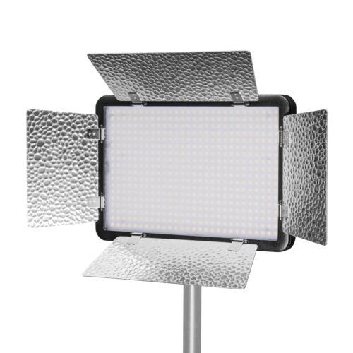luz LED con trípode y baterías Walimex pro LED versalight 500 Daylight set1