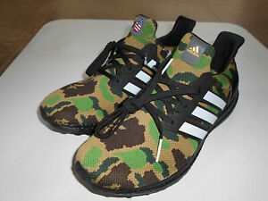 save off preview of official photos Details about AUTHENTIC A BATHING APE BAPE x ADIDAS ULTRA BOOST GREEN US 9  NEW SNEAKERS
