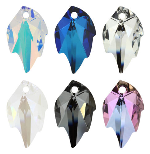 Wholesale Genuine SWAROVSKI 6735 Leaf Crystal Pendants