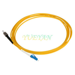 20M-3-0mm-ST-UPC-to-LC-UPC-Fiber-Patch-Cord-Jumper-Cable-SM-Simplex