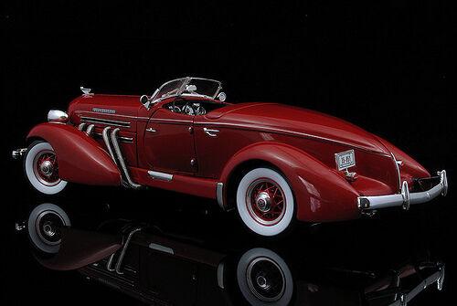 Vintage 1 SPORT RACE CAR 18 1930s 24 Auburn Cable Duesenberg 43 carrusel Rojo 12