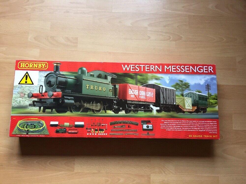 HORNBY R1142 Western Messenger Complete Starter Train Set