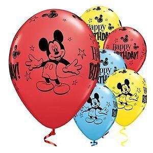 """Mickey Mouse Globos Supershape//niños//cumpleaños//fiesta//globo de la hoja//// 18/""""//Látex quam"""