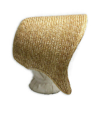 Size Small Blank Victorian//Civil War Low Crowned Spoon Bonnet 1850s-1860s