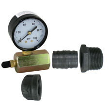Pressure Test Kit For Pex Guy Stainless Steel Or Classic Radiant Heat Manifolds