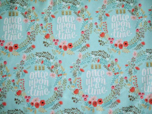 HILCO Jersey Blumen,Kinderstoff Schwan T-Shirt-Stoff Schwäne Baumwolljersey