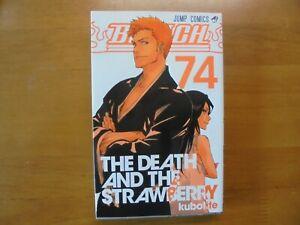 BLEACH-Vol-74-Manga-Jump-Comic-Book-Japanese-original-version