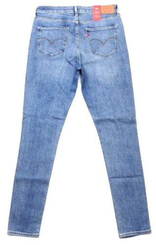 Jeans Levi's £85 Skinny Rise High Tint New 721 Women's Rrp Stretch Vintage Blue 05Tqw6C