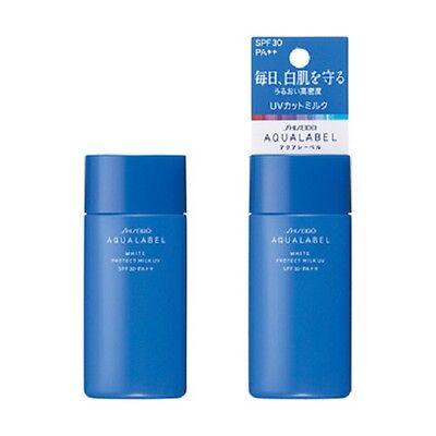 From JAPAN Shiseido AQUALABEL White Protect Milk UV 50ml / SPF30 PA++