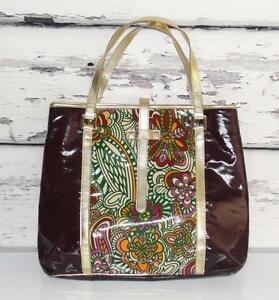 Tote Bag Kate colored~large~coated~floral~travel Landry~multi Carryall Shoppers Y6yv7fgmIb