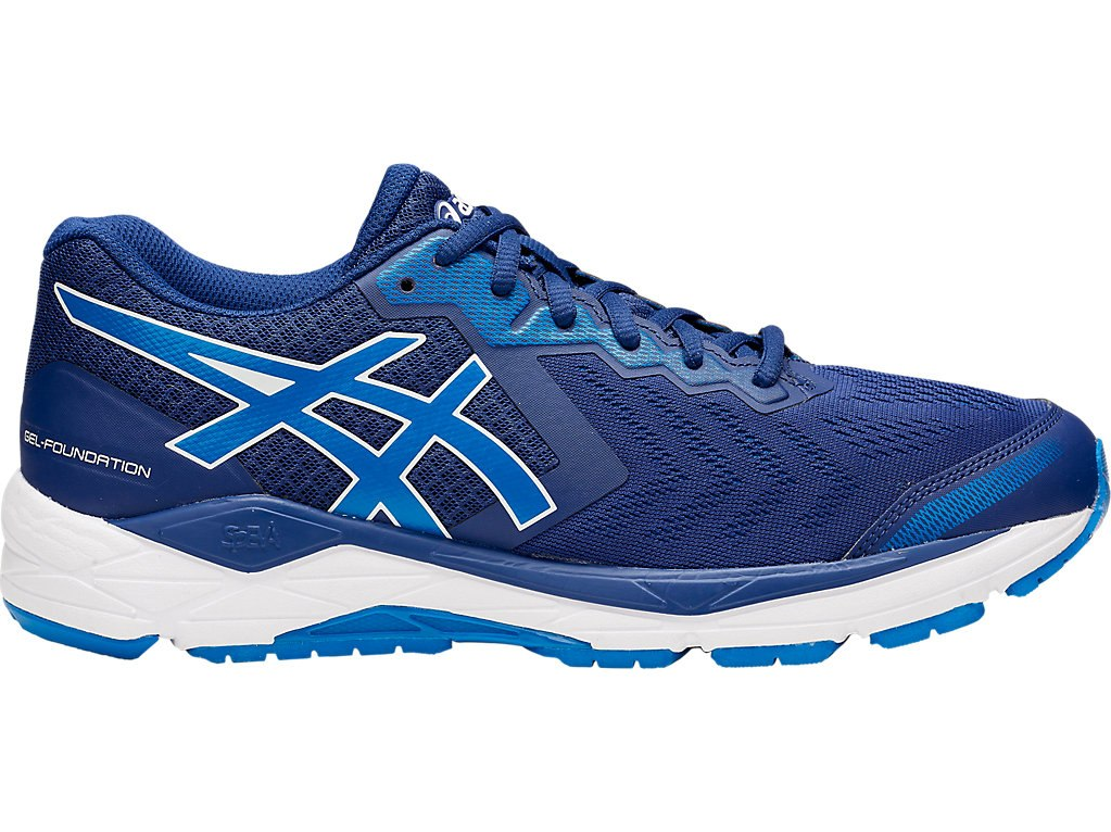 NEW   Asics Gel Foundation 13 Homme Running Chaussures (4E) (400)
