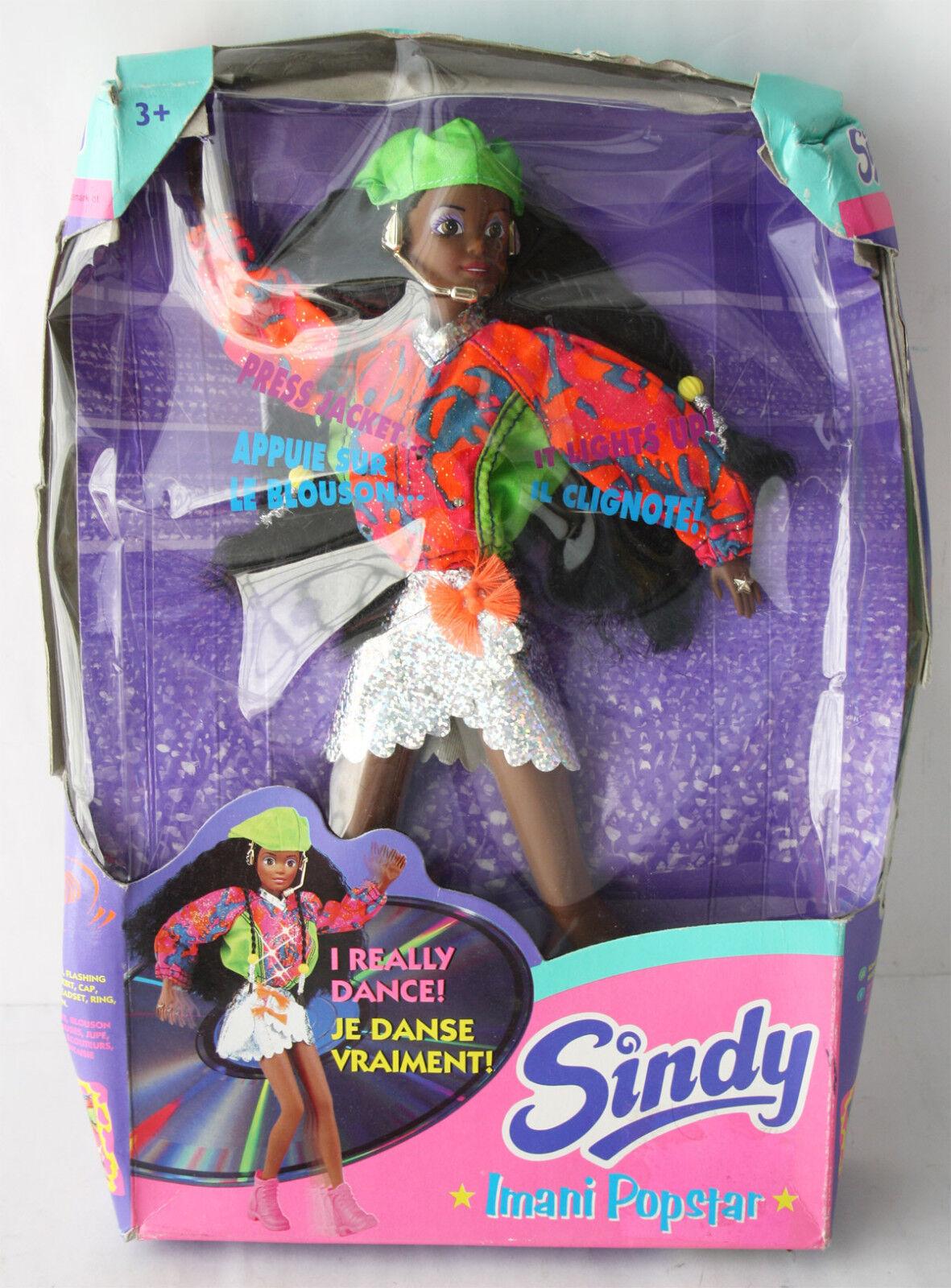 ULTRA RARE VINTAGE 1995 SINDY IMANI POP STAR AFRICAN AMERICA DOLL HASBRO NEW