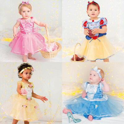 NEW Disney Deluxe Infant Costume-Princess Snow White-Size 6-12Month//12-18 Month