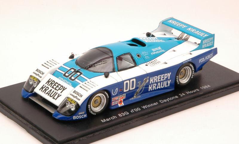 March 83g Winner Daytona 1984 V.D. Merwe   Duxbury  Martin 1 43 Model