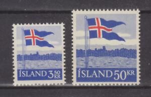 Courageux Islande 1958 40th Anniversaire De L'islandais Drapeau Neuf Sans Charnière/hank