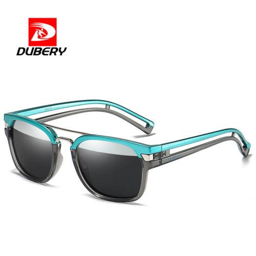 DUBERY Men's Polarized Sport Sunglasses Outdoor Driving Riding Glasses New 2019