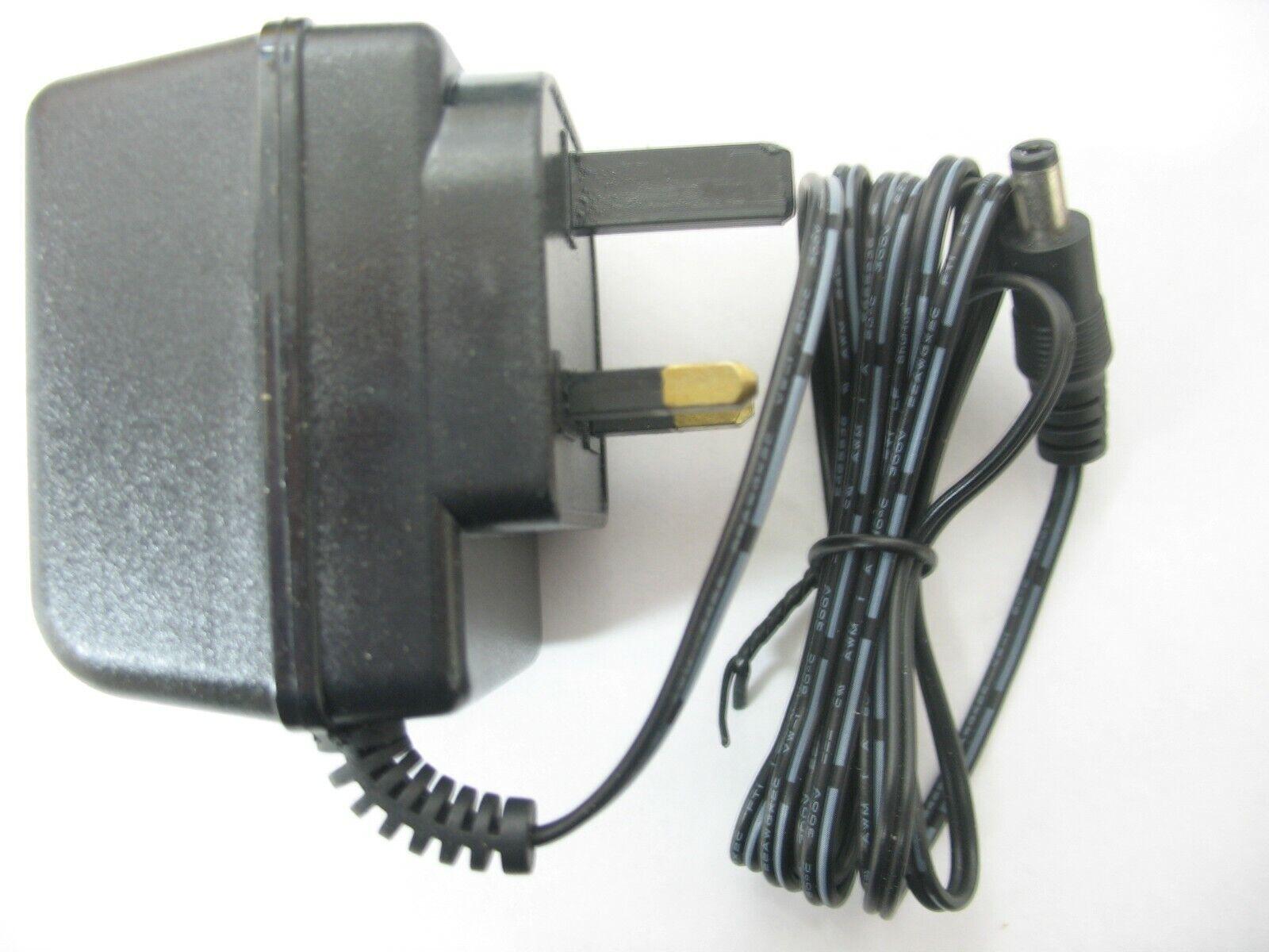 0.5 amp 15 volt AC-AC (AC Output) Mains Power Adaptor/Supply/Charger 7.5 watt