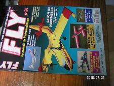 1?µ µ? Revue Fly n°24 plan encart Le Fury / Mini DG 200 Trainer 400 ASW 15B