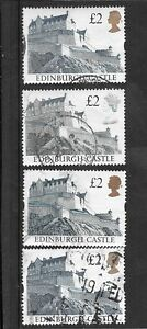 GB Selection of 2 Castles Stamps  Used Set 2 - Cleethorpes, United Kingdom - GB Selection of 2 Castles Stamps  Used Set 2 - Cleethorpes, United Kingdom