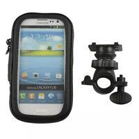 Hot Motorcycle Bike Handlebar Holder Mount Waterproof Bag Case For Cellphone Gps