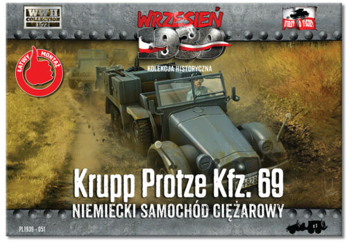1//72 First to fight PL1939-051 Krupp Protze Kfz.69