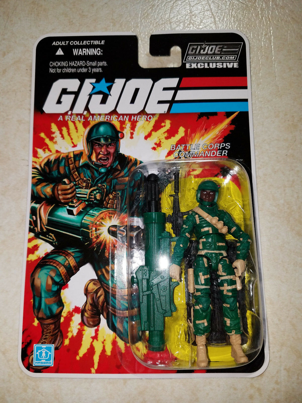GI Joe Collector Club Subscription 8.0 Battle Battle Battle Corps Bullet-Proof  -Ready to Ship e7639c