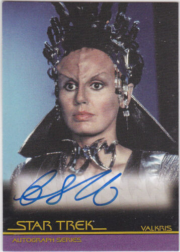 STAR TREK THE COMPLETE MOVIES A13 CATHIE SHIRRIFF AUTOGRAPH