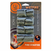 Ultimate Survival Technologies Wetfire Tinder 8-pack All-weather Fire Starter
