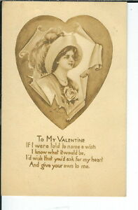 AX-258-To-My-Valentine-Artist-Signed-A-Toniolon-1907-1915-Postcard