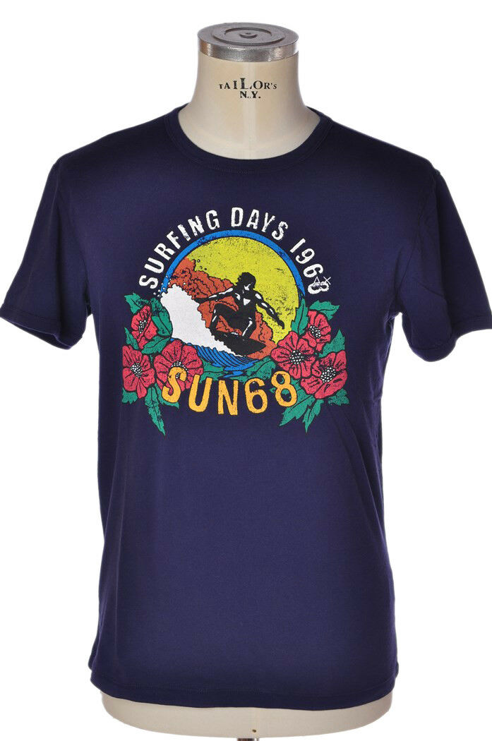 Sun68 - Topwear-T-shirts - mann - Rot - 801718C184521