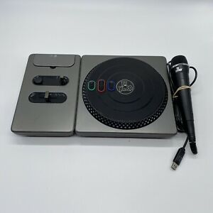 DJ-Hero-Wireless-Turntable-Controller-for-Xbox-360-TESTED-and-DJ-Hero-Mic