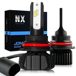 JDM ASTAR 2x 6S 8000LM 9007//HB5 LED Car Headlight Hi//Low Beam Bulbs Xenon White