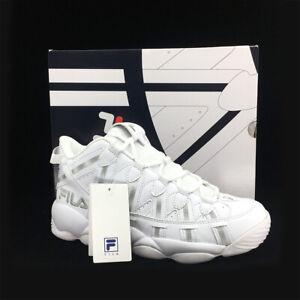 Details about New FILA Mens SPAGHETTI 95 FS1HTB1244X WHITE / GREY  Basketball US M 7-10 TAKSE
