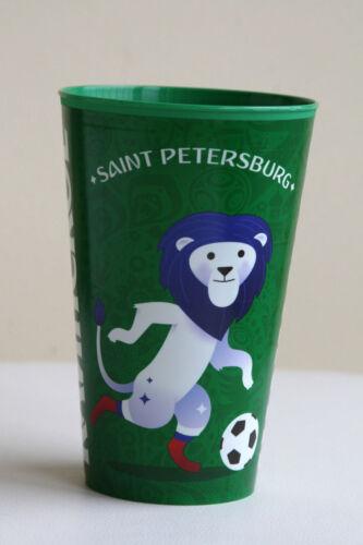 FIFA Worldcup Kainskoe St Trinkbecher WM 2018 Petersburg Fanbecher