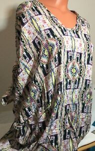 Clothing, Shoes & Accessories Active New Victoria's Secret Swim Beach Viscose Top Cover-up Xs/s Multi Color #2783 Women's Clothing