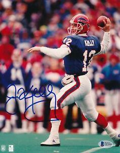 4c15015d459 Jim Kelly Buffalo Bills HOF 2002 Autographed Signed 8x10 Photo ~ BAS ...