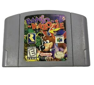 Banjo-Kazooie-Nintendo-64-1998-N64-Tested-Works-Cartridge-Only-0953