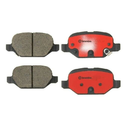 Rear Ceramic Slotted Disc Brake Pads Set Brembo P23151N fits Fiat 500 2012-2015