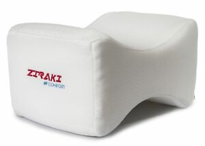 Ziraki-Memory-Foam-Wedge-Contour-Orthopedic-Knee-Pillow-for-Sciatica-Nerve