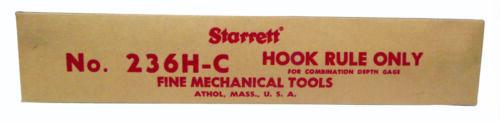 236H-C Hook Rule Only EDP51077 Starrett