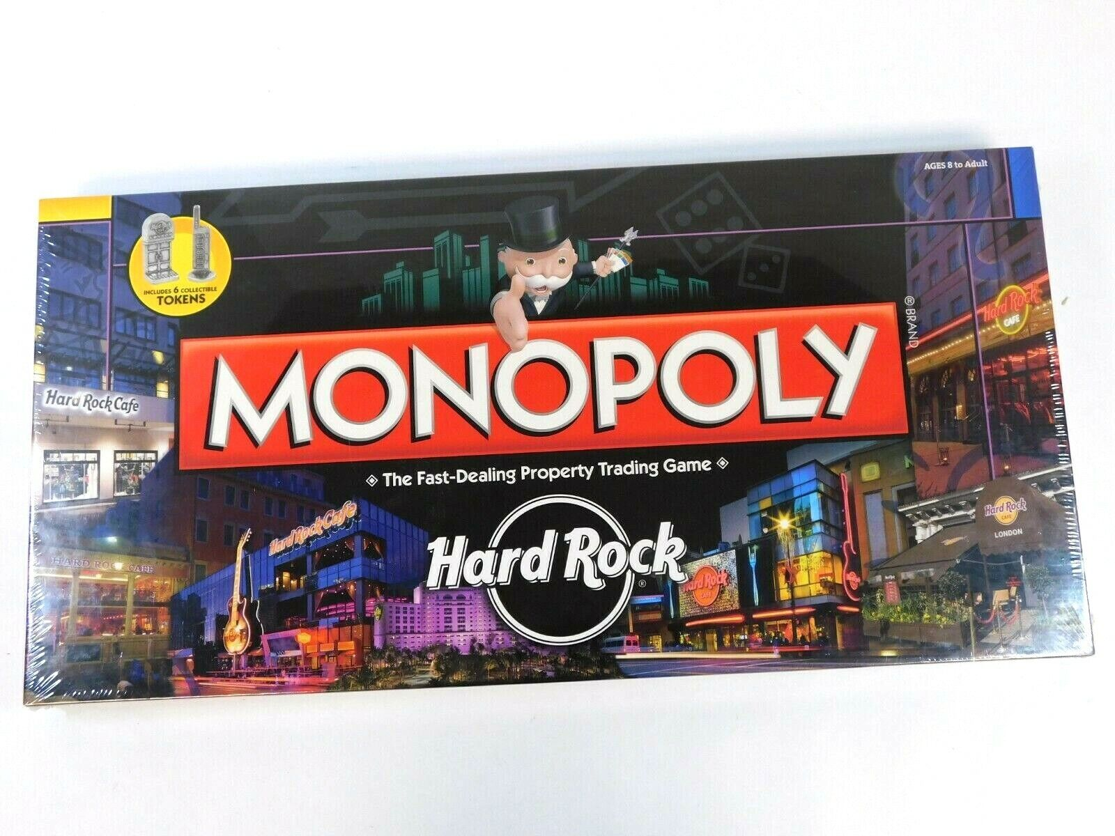 Hard Rock Cafe monopolio 4th Edition Nuevo 2010 Usaopoly