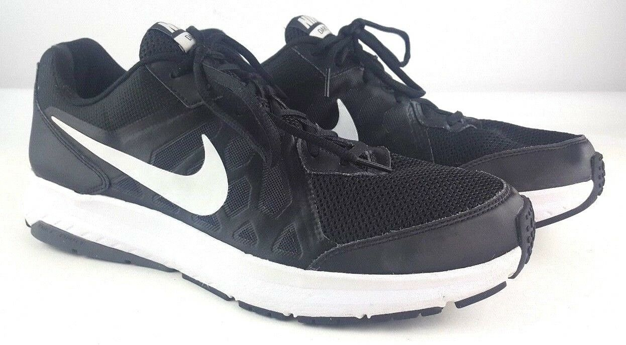 timeless design 042dc 2dd7b NIKE DART XI Athletic Athletic Athletic shoes Sneakers Black White Men s  Size 12.5 8ed485