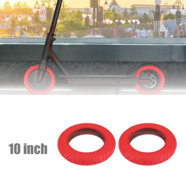 2Pcs for XiaoMi Mijia M365 Pro 10 Inch Electric Scooter Tire 10 X 2 Inflata G9F9