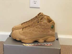 hot sale online 4513c 37f1f Image is loading Nike-Air-Jordan-13-XIII-Retro-2017-Wheat-