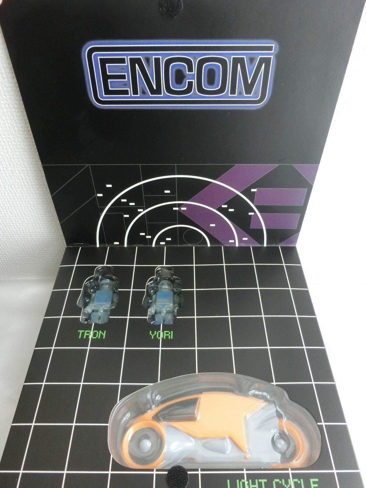 Kubrick Tron Set (a) Tron no grites Luz ciclo Encom Medi com Figura de juguete nuevo F S