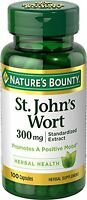 Nature's Bounty St. John's Wort Standardized Extract 300 Mg, 100 Each on sale