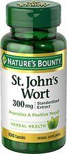 Nature's Bounty St. John's Wort Standardized Extract 300 mg, 100 Each