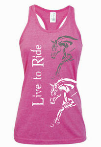 HEELS-DOWN-CLOTHING-LIVE-TO-RIDE-SINGLET-ALL-SIZES-AVAIL