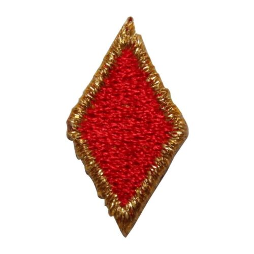 ID 8584 Lot of 3 Gold Diamond Suit Patch Card Symbol Embroidered IronOn Applique