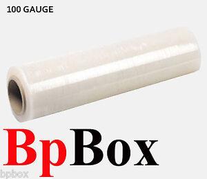 100-GAUGE-1-Stretch-Film-Rolls-Shrink-Wrap-Packaging-18-034-X-1000-039-CLEAR